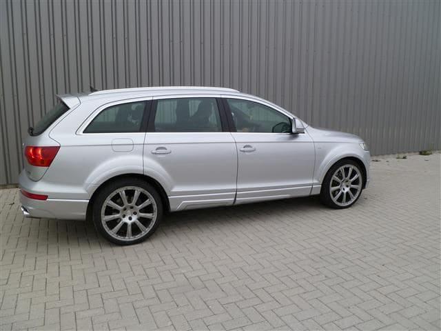 Audi Q7 met Mat Witte Wrap, Carwrapping door Wrapmyride.nu Foto-nr:4930, ©2021