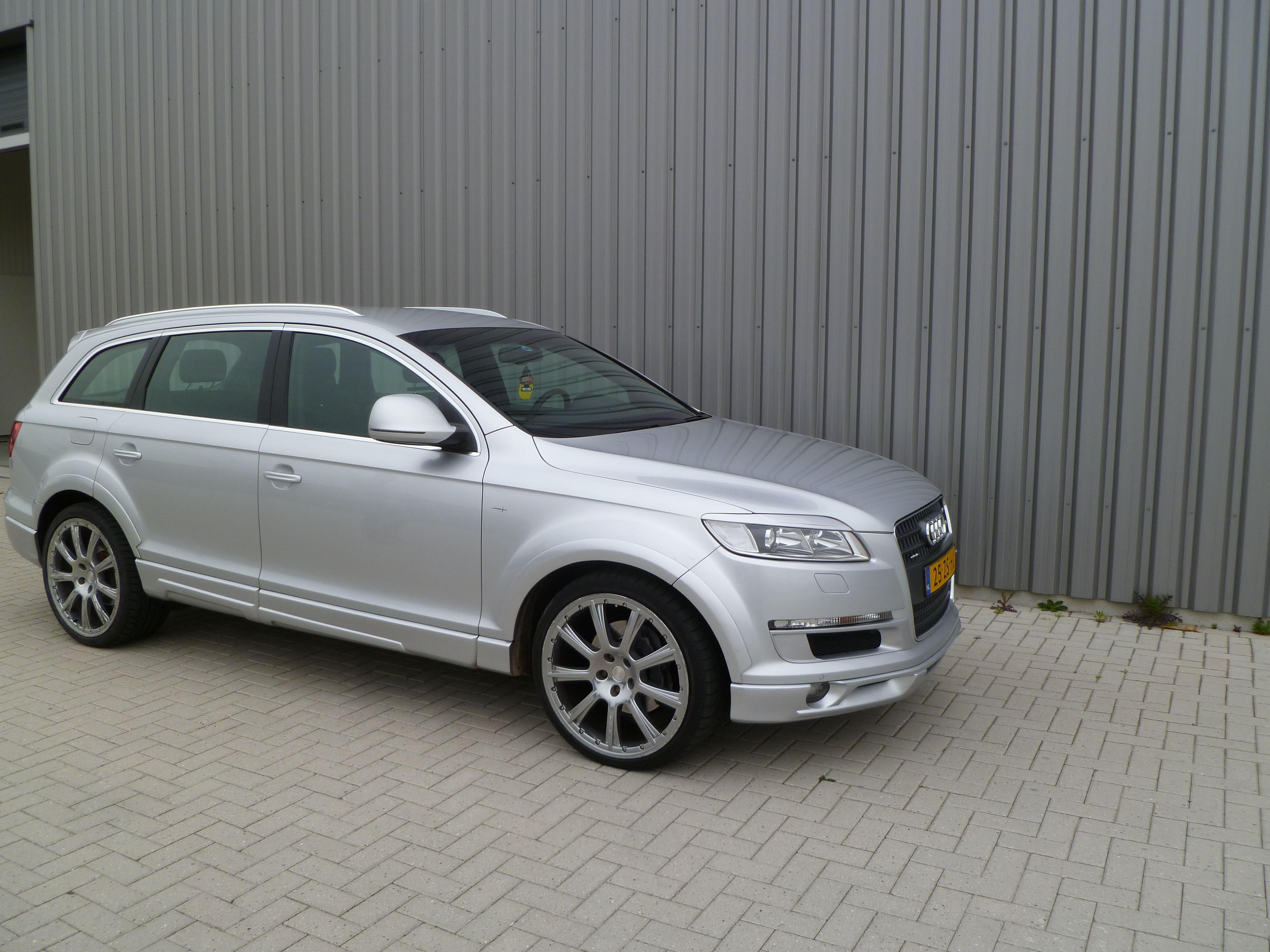 Audi Q7 met Mat Witte Wrap, Carwrapping door Wrapmyride.nu Foto-nr:4931, ©2021