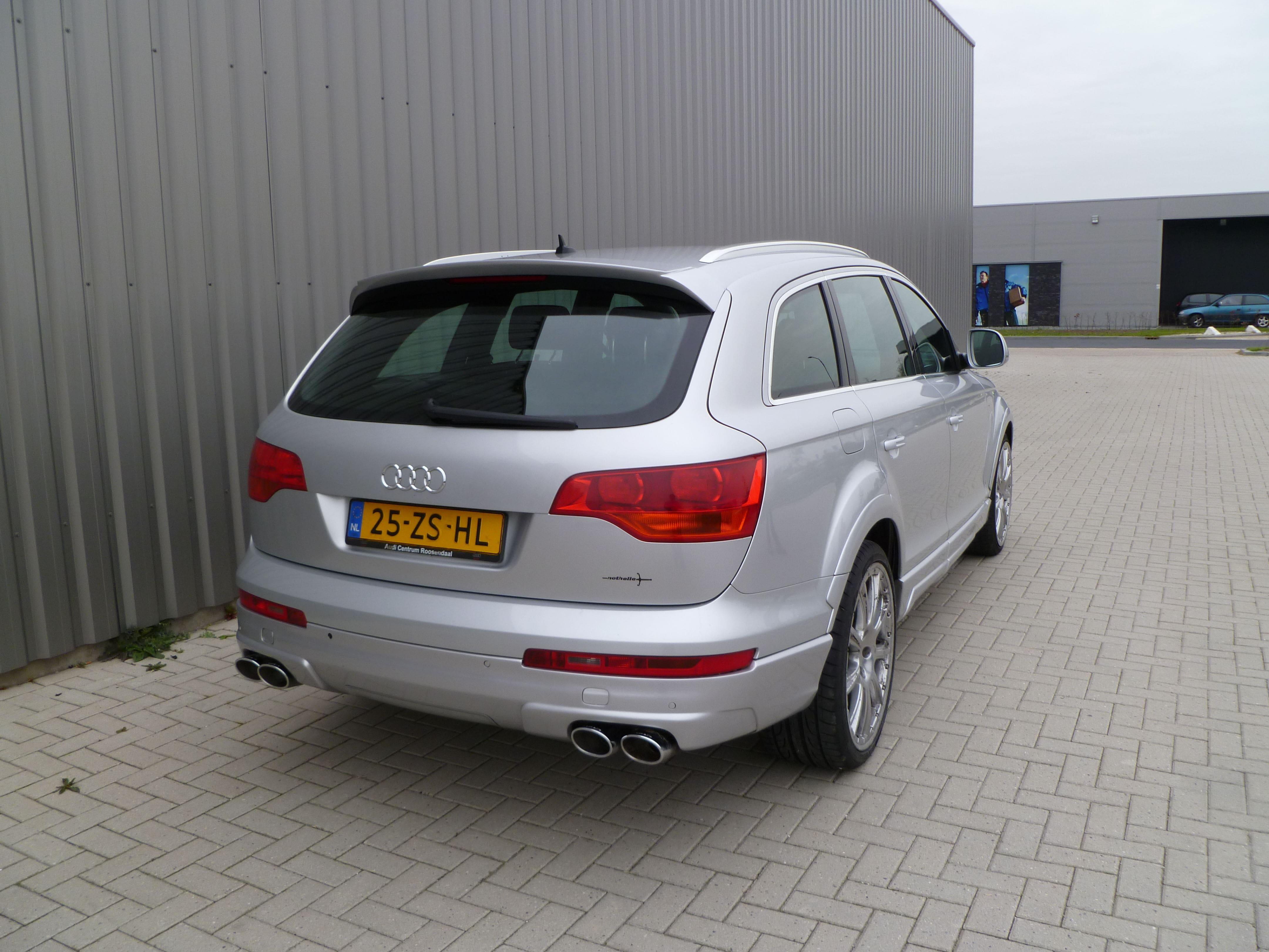 Audi Q7 met Mat Witte Wrap, Carwrapping door Wrapmyride.nu Foto-nr:4935, ©2021