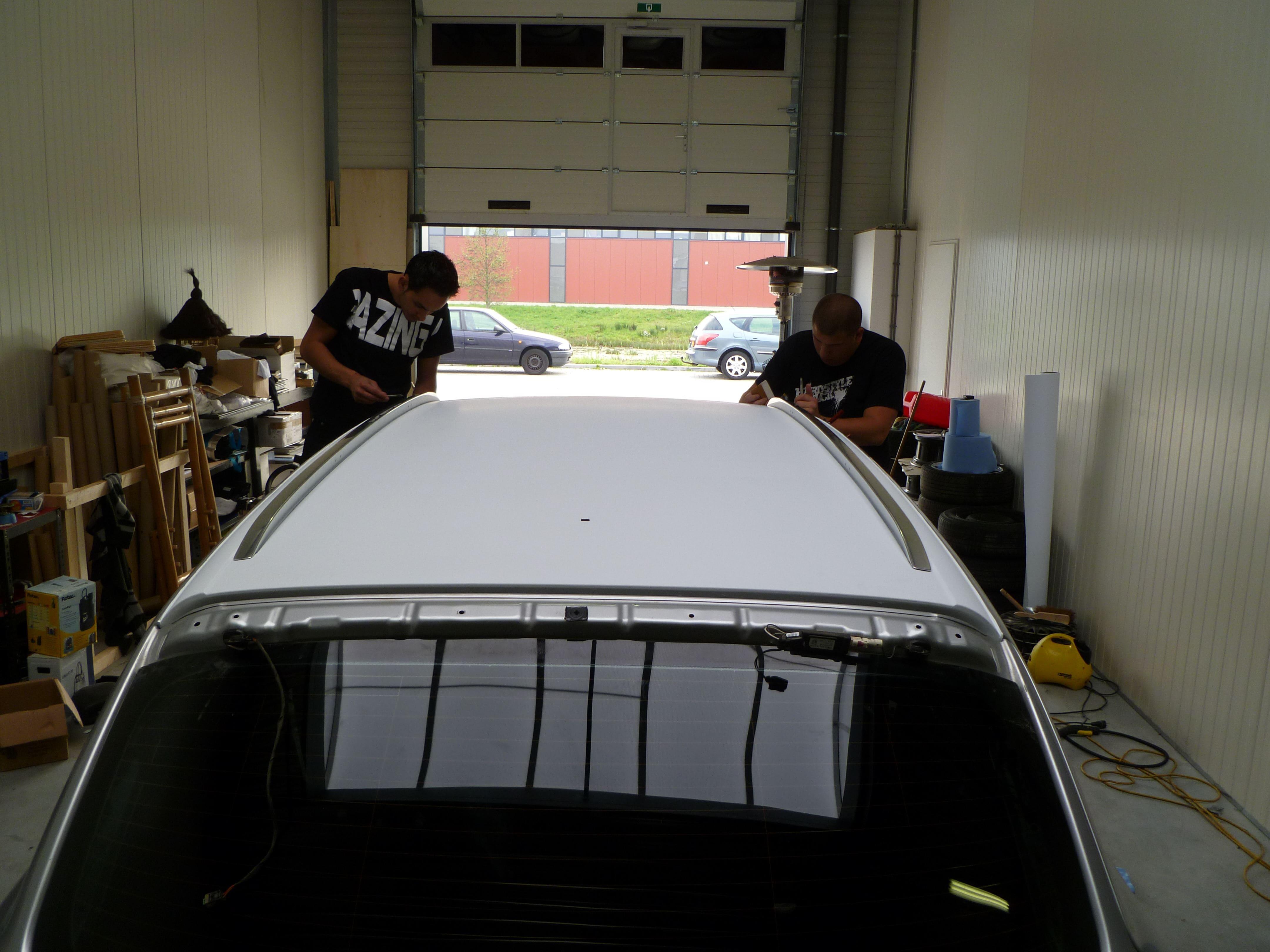 Audi Q7 met Mat Witte Wrap, Carwrapping door Wrapmyride.nu Foto-nr:4980, ©2021