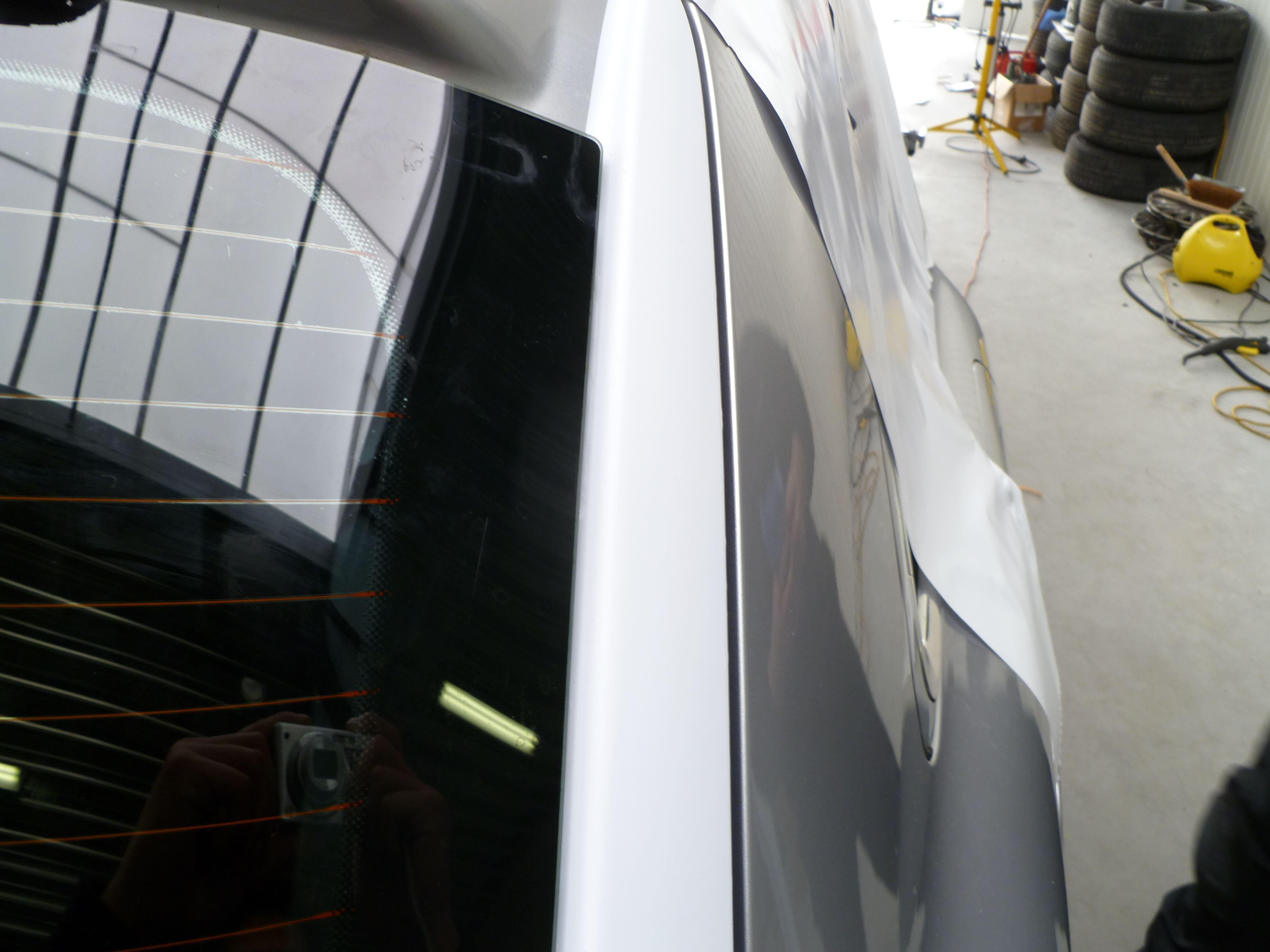 Audi Q7 met Mat Witte Wrap, Carwrapping door Wrapmyride.nu Foto-nr:4985, ©2021