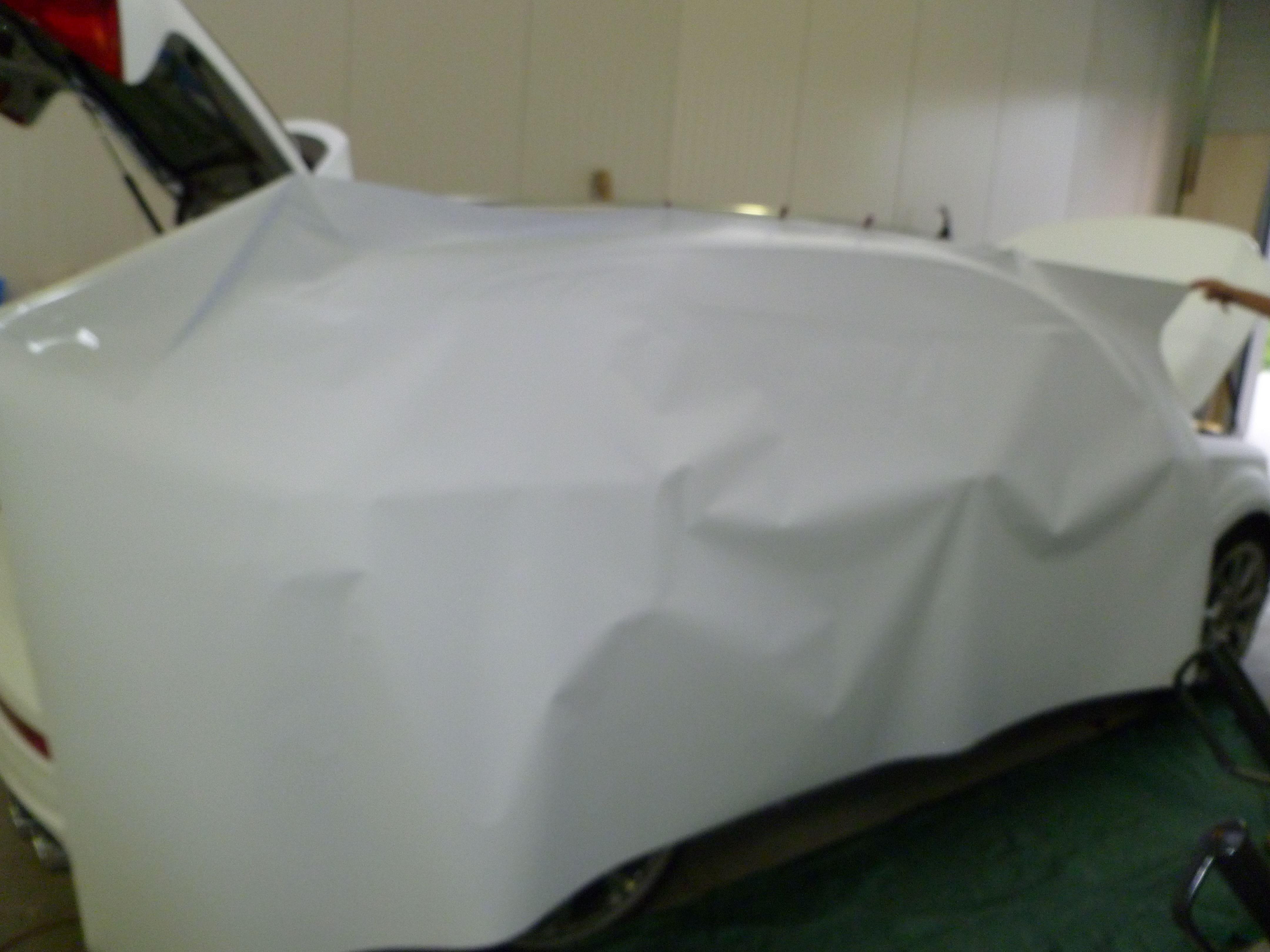 Audi Q7 met Mat Witte Wrap, Carwrapping door Wrapmyride.nu Foto-nr:5006, ©2021