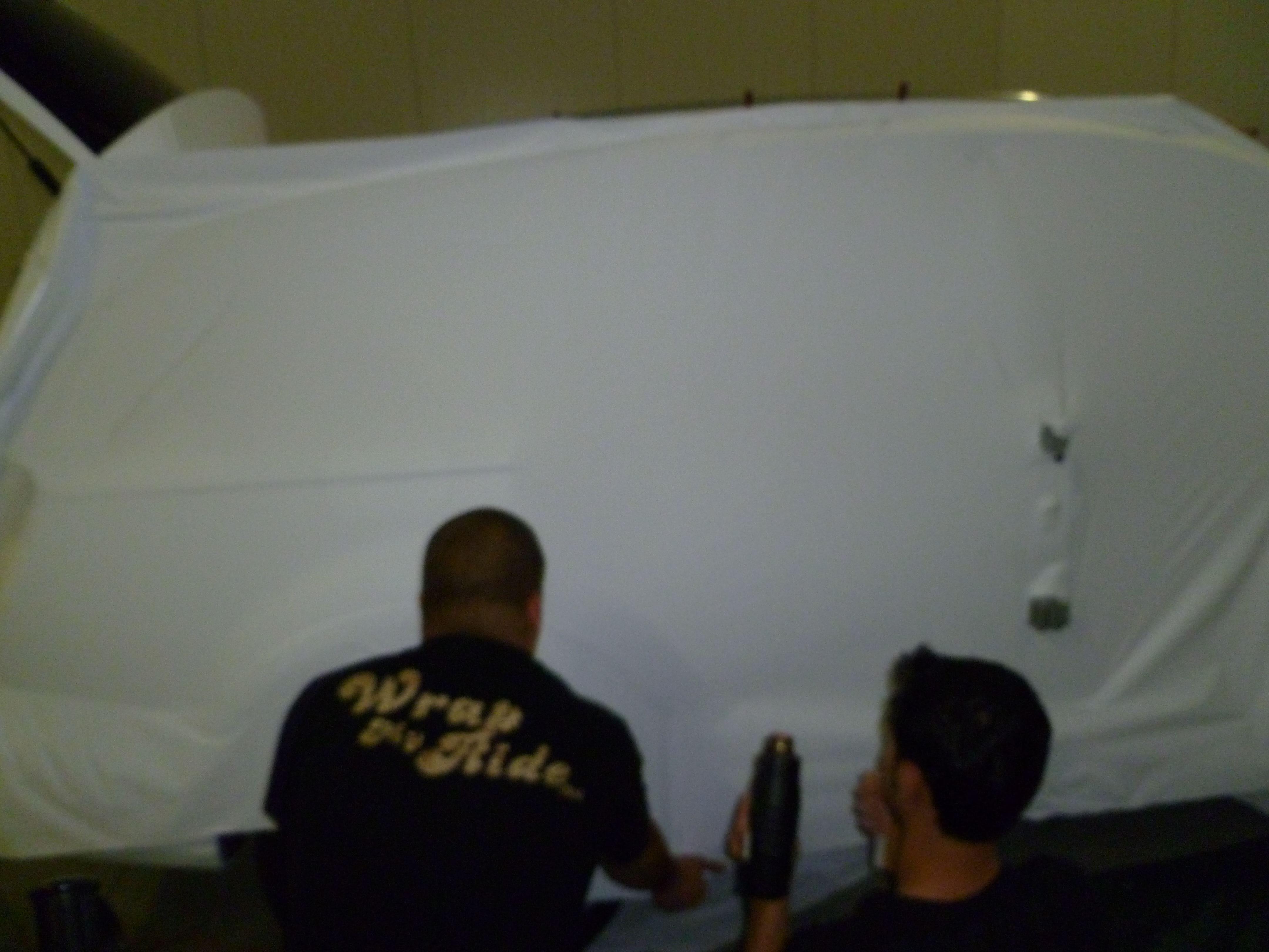 Audi Q7 met Mat Witte Wrap, Carwrapping door Wrapmyride.nu Foto-nr:5008, ©2021