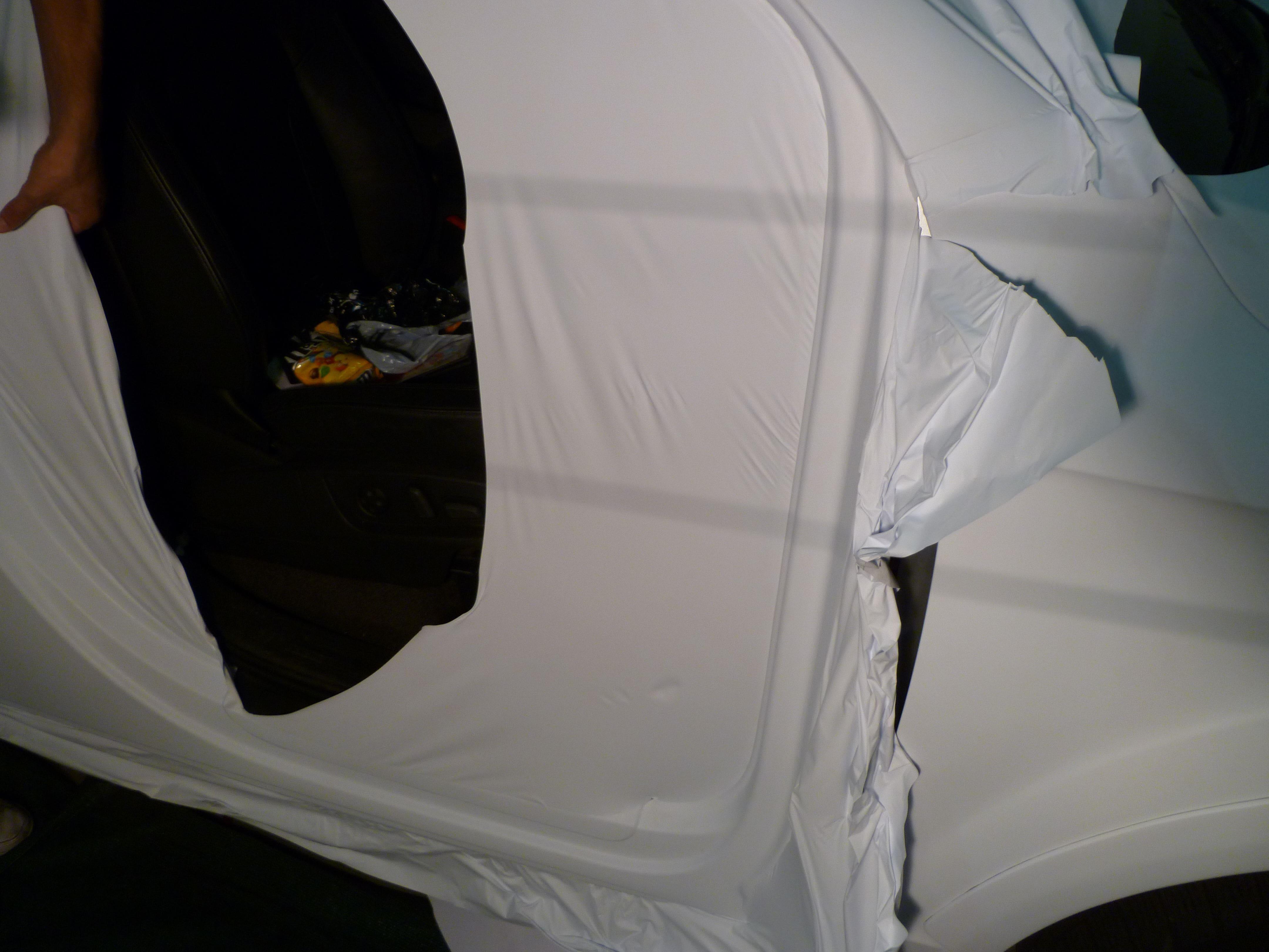 Audi Q7 met Mat Witte Wrap, Carwrapping door Wrapmyride.nu Foto-nr:5016, ©2021