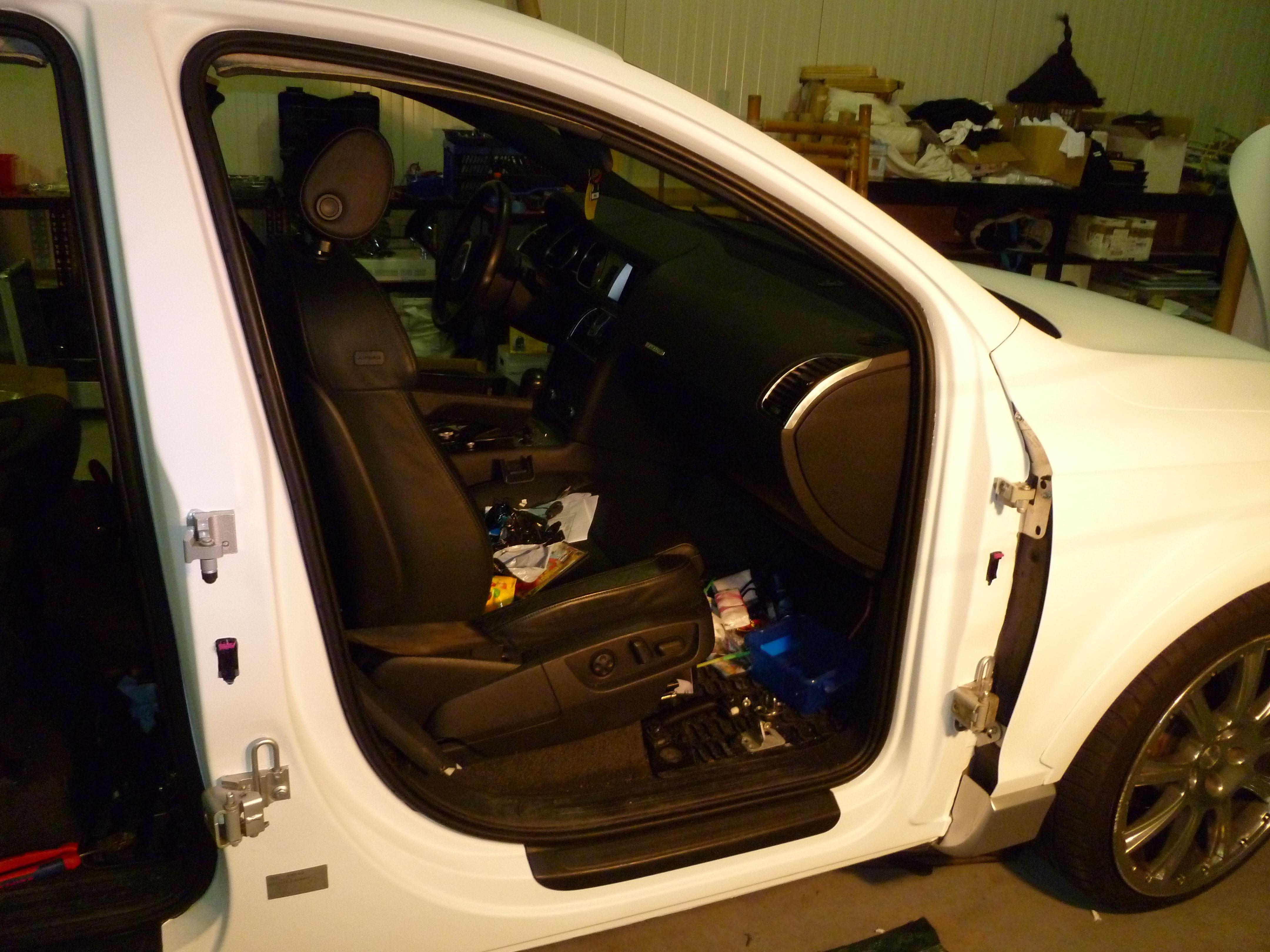 Audi Q7 met Mat Witte Wrap, Carwrapping door Wrapmyride.nu Foto-nr:5018, ©2021