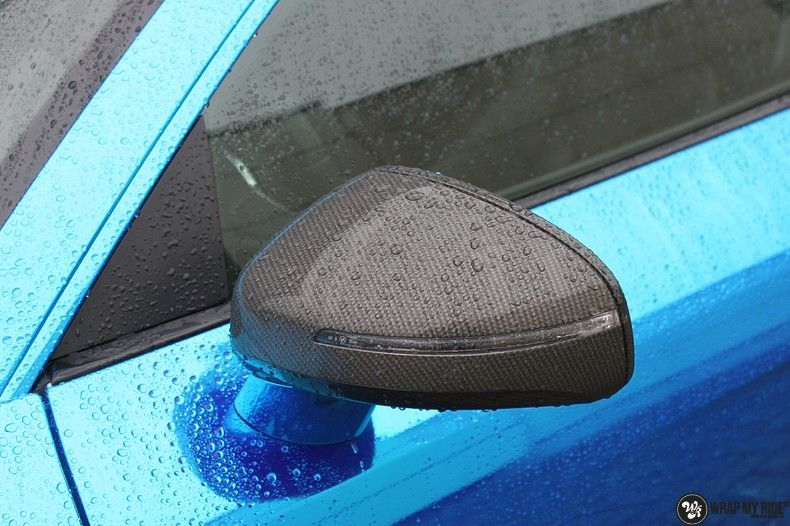 Audi R8 Bleu Chrome, Carwrapping door Wrapmyride.nu Foto-nr:10489, ©2019