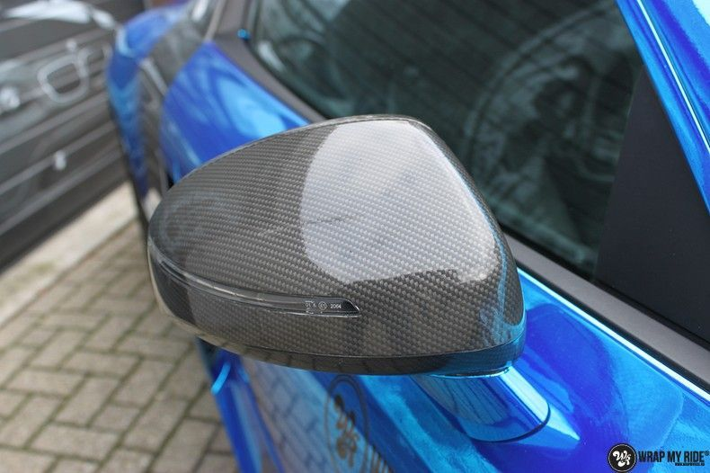 Audi R8 Bleu Chrome, Carwrapping door Wrapmyride.nu Foto-nr:10472, ©2019