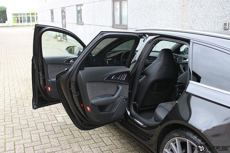 Audi RS6 glanzend metallic zwart, Carwrapping door Wrapmyride.nu Foto-nr:10439, ©2018