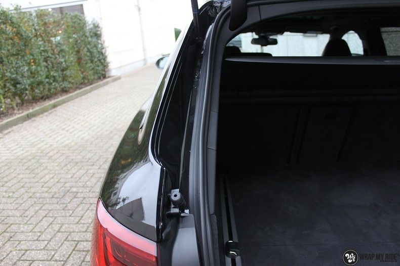 Audi RS6 glanzend metallic zwart, Carwrapping door Wrapmyride.nu Foto-nr:10430, ©2020