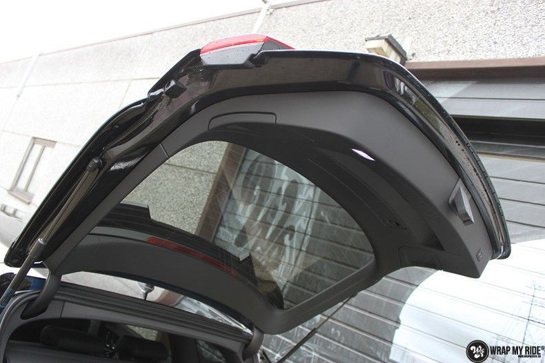 Audi RS6 glanzend metallic zwart, Carwrapping door Wrapmyride.nu Foto-nr:10429, ©2018