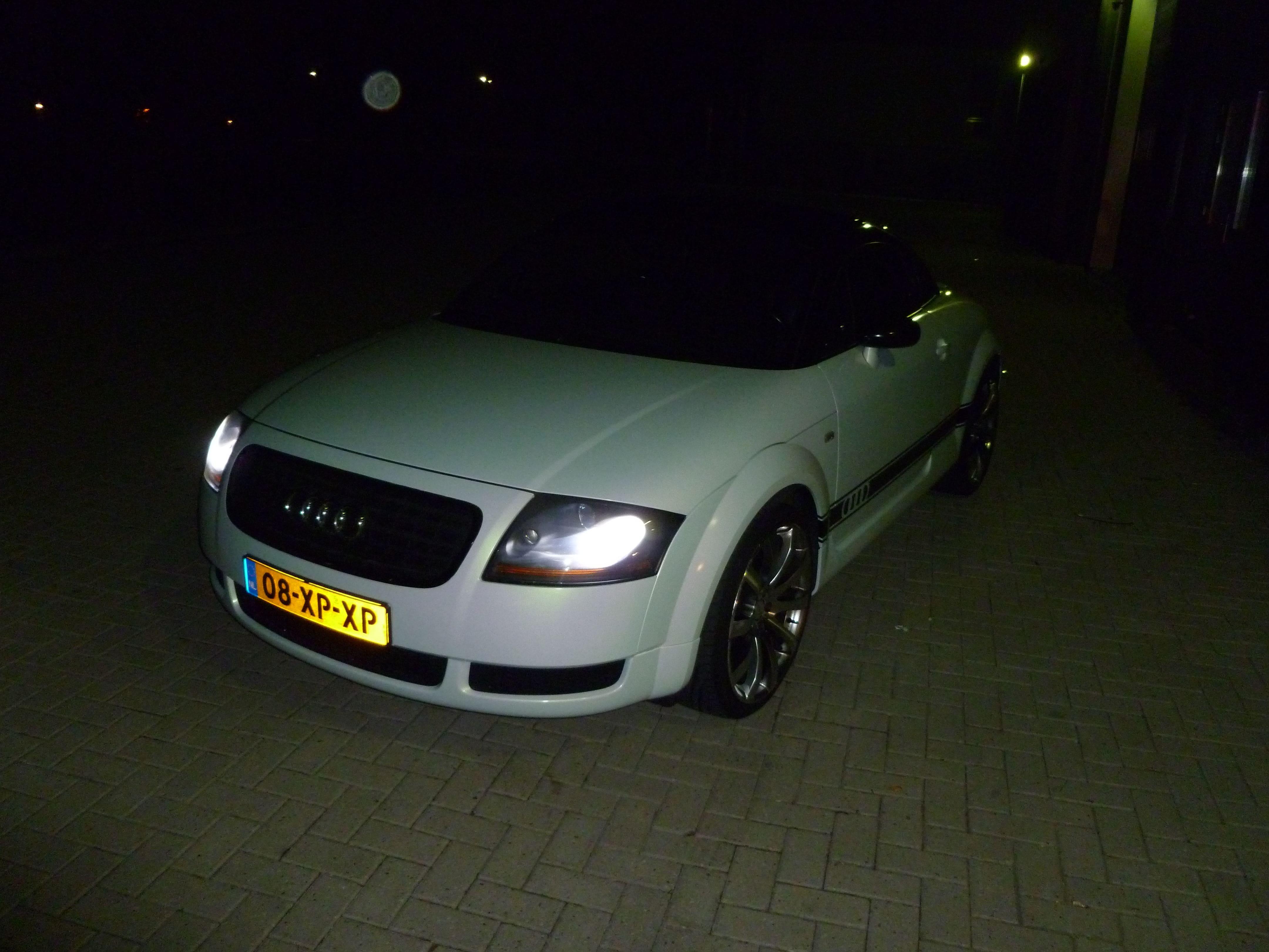 Audi TT met Witte Wrap, Carwrapping door Wrapmyride.nu Foto-nr:5089, ©2021
