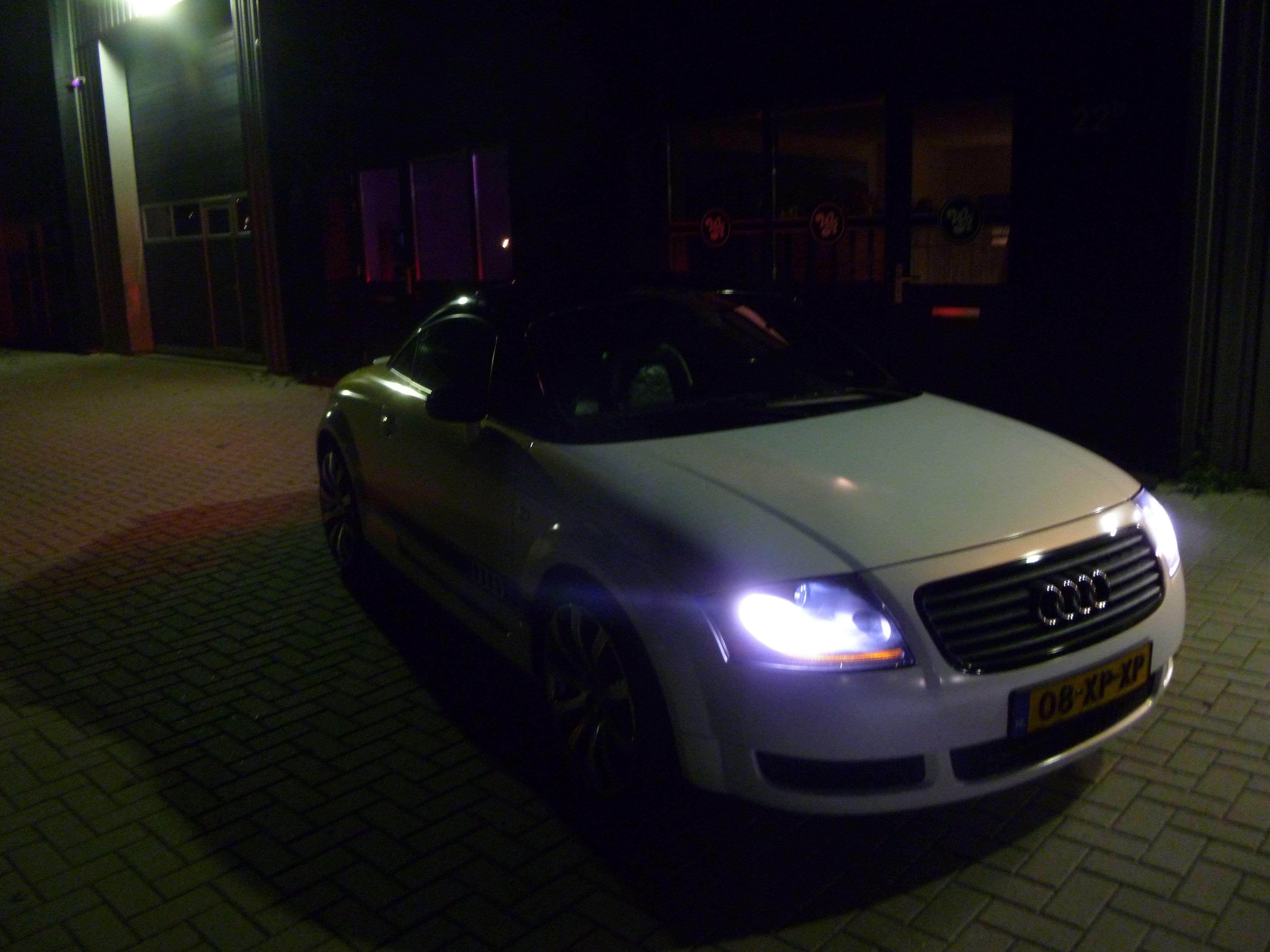 Audi TT met Witte Wrap, Carwrapping door Wrapmyride.nu Foto-nr:5091, ©2021