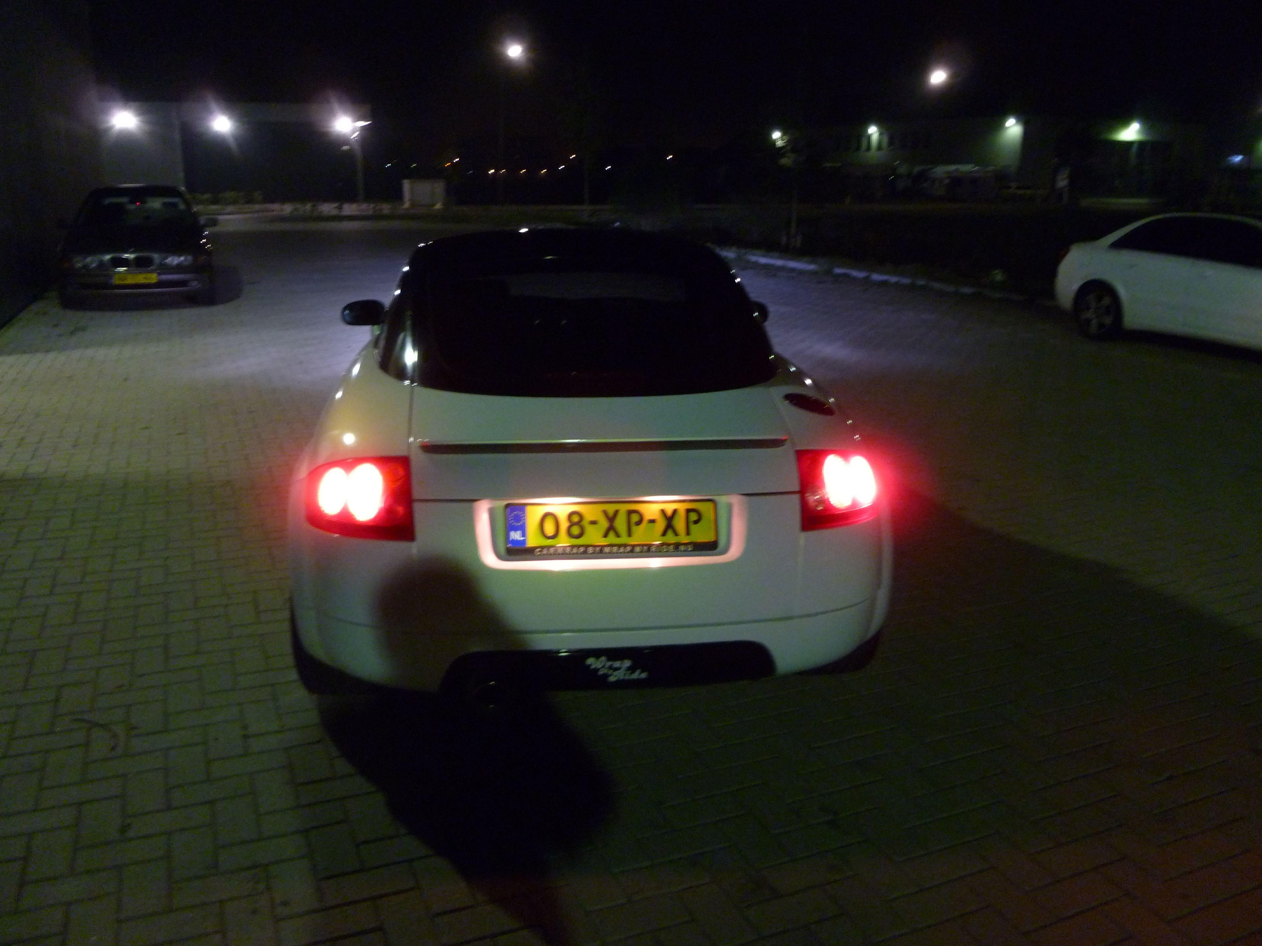Audi TT met Witte Wrap, Carwrapping door Wrapmyride.nu Foto-nr:5093, ©2021