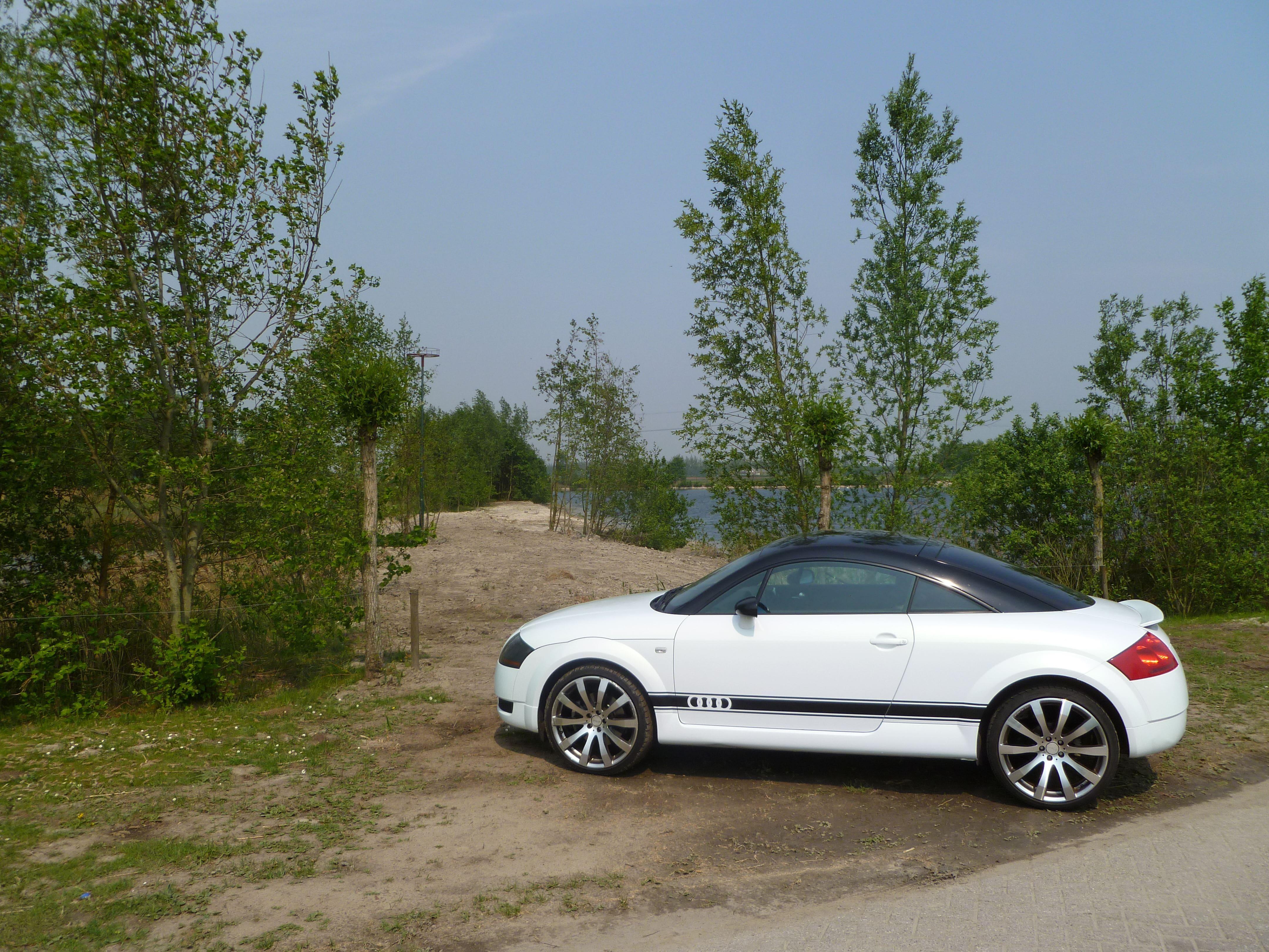 Audi TT met Witte Wrap, Carwrapping door Wrapmyride.nu Foto-nr:5100, ©2021