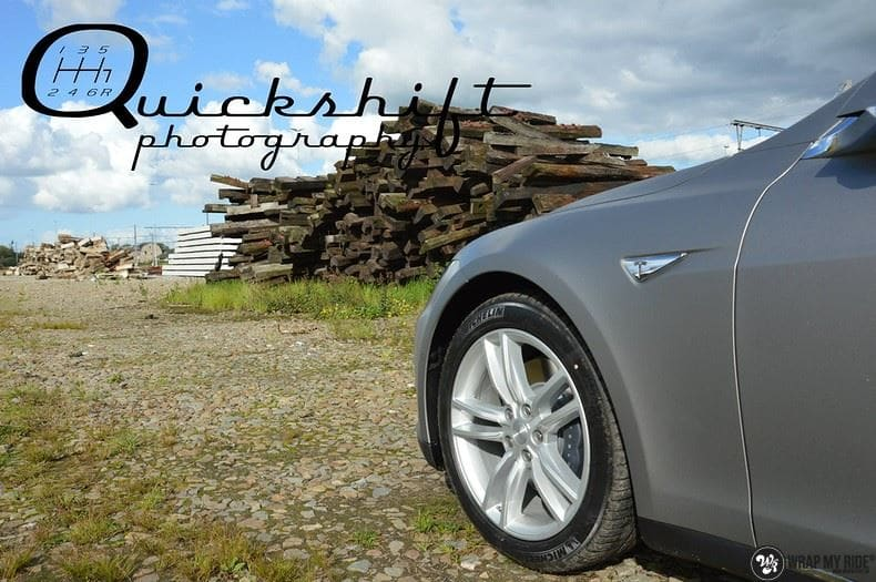 Tesla model S, Carwrapping door Wrapmyride.nu Foto-nr:8962, ©2020