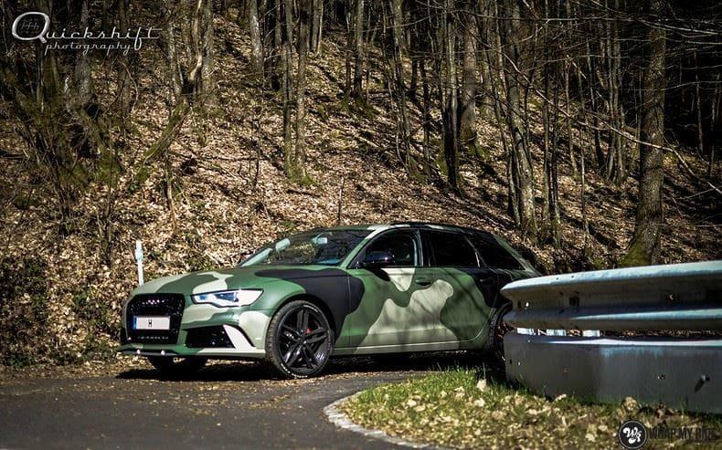 Audi A6 Camo style, Carwrapping door Wrapmyride.nu Foto-nr:9692, ©2020
