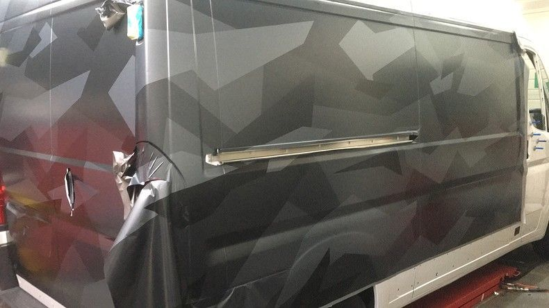 B2S CAMO wrap for the toughest, Carwrapping door Wrapmyride.nu Foto-nr:12426, ©2020