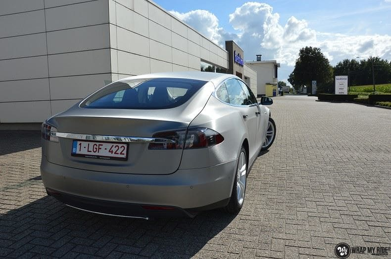 Tesla model S, Carwrapping door Wrapmyride.nu Foto-nr:8954, ©2020