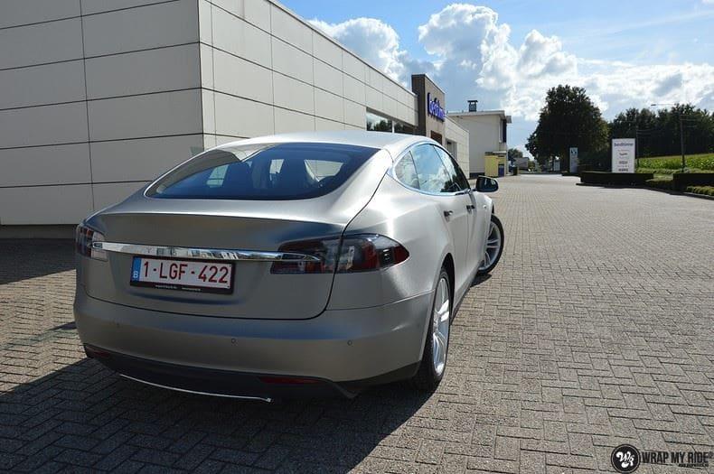 Tesla model S, Carwrapping door Wrapmyride.nu Foto-nr:8954, ©2020