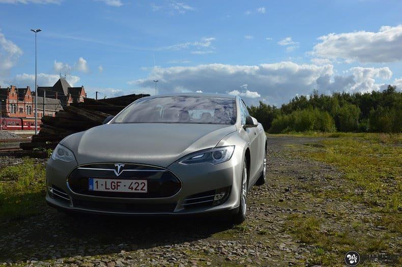 Tesla model S, Carwrapping door Wrapmyride.nu Foto-nr:8942, ©2020
