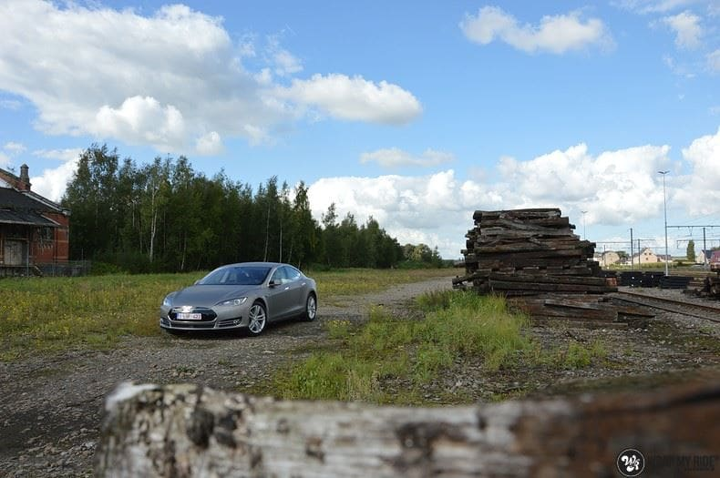 Tesla model S, Carwrapping door Wrapmyride.nu Foto-nr:8938, ©2021