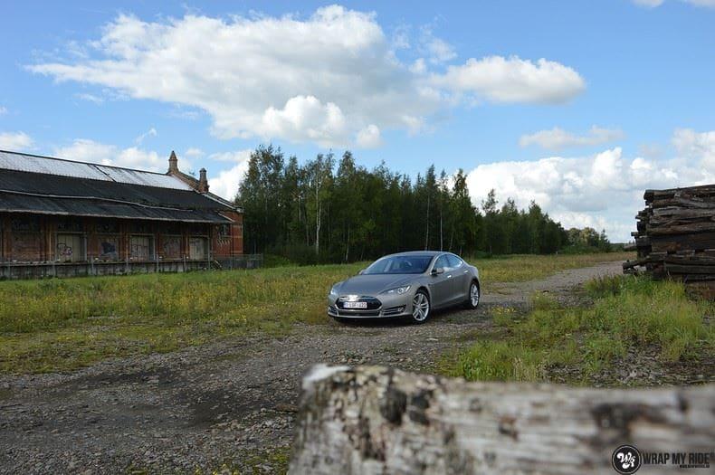Tesla model S, Carwrapping door Wrapmyride.nu Foto-nr:8937, ©2020