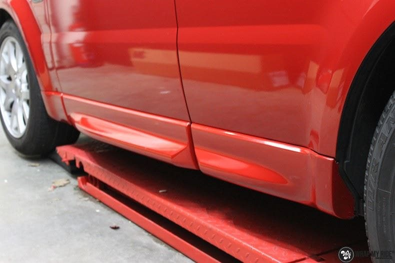 Range Rover Sport Dragon Fire Red, Carwrapping door Wrapmyride.nu Foto-nr:9840, ©2018