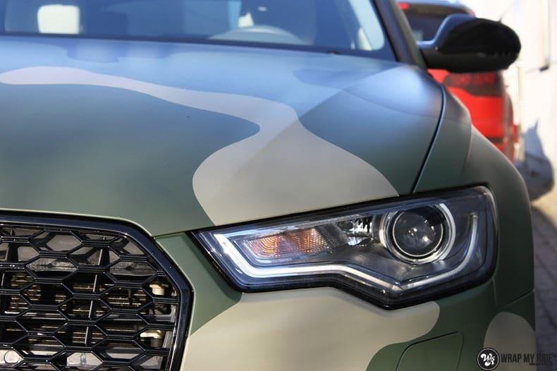 Audi A6 Camo style, Carwrapping door Wrapmyride.nu Foto-nr:9683, ©2020