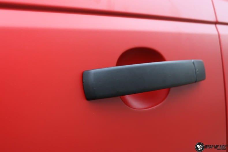 Range Rover Sport in Smoldering Satin Red, Carwrapping door Wrapmyride.nu Foto-nr:10311, ©2020