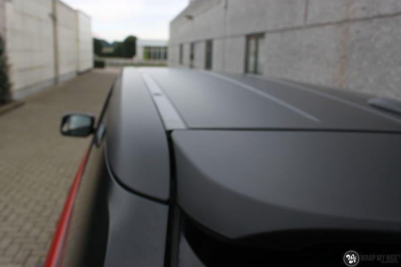 Range Rover Sport in Smoldering Satin Red, Carwrapping door Wrapmyride.nu Foto-nr:10307, ©2020