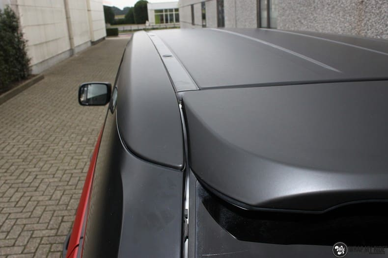 Range Rover Sport in Smoldering Satin Red, Carwrapping door Wrapmyride.nu Foto-nr:10306, ©2020