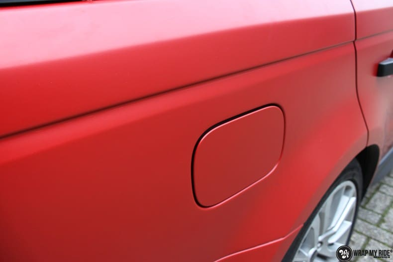 Range Rover Sport in Smoldering Satin Red, Carwrapping door Wrapmyride.nu Foto-nr:10298, ©2020