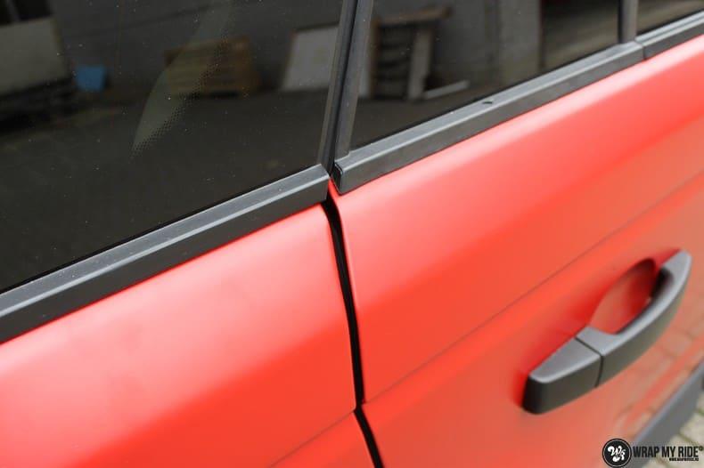 Range Rover Sport in Smoldering Satin Red, Carwrapping door Wrapmyride.nu Foto-nr:10297, ©2020