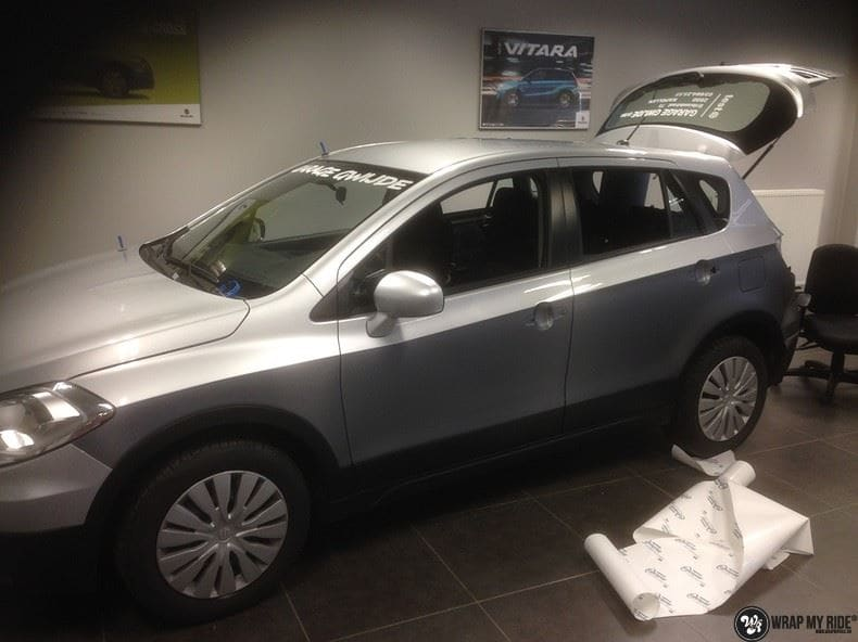 Suzuki S-cross, Carwrapping door Wrapmyride.nu Foto-nr:8288, ©2020