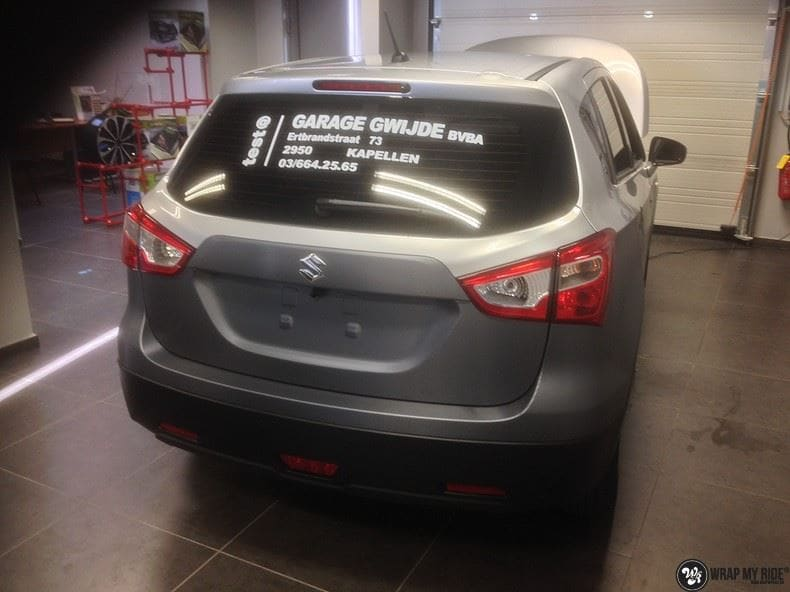 Suzuki S-cross, Carwrapping door Wrapmyride.nu Foto-nr:8281, ©2020