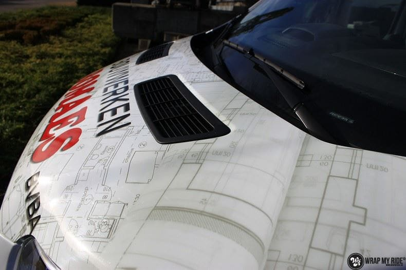 Ford Transit bedrijfswagens voor Bomaes, Carwrapping door Wrapmyride.nu Foto-nr:8671, ©2018