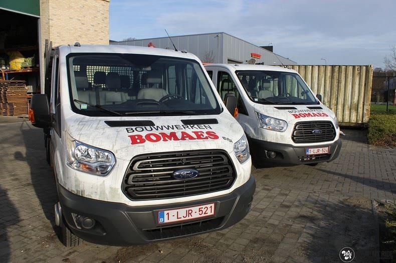 Ford Transit bedrijfswagens voor Bomaes, Carwrapping door Wrapmyride.nu Foto-nr:8655, ©2020