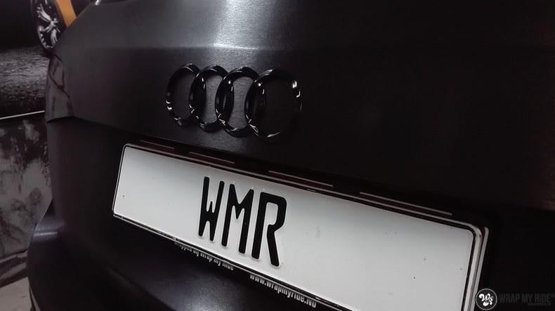 Audi Q5 Brushed black, Carwrapping door Wrapmyride.nu Foto-nr:8426, ©2020