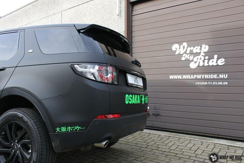 RangeRover Discovery Sport Osaka, Carwrapping door Wrapmyride.nu Foto-nr:8704, ©2018