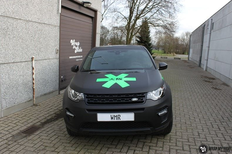RangeRover Discovery Sport Osaka, Carwrapping door Wrapmyride.nu Foto-nr:8696, ©2020