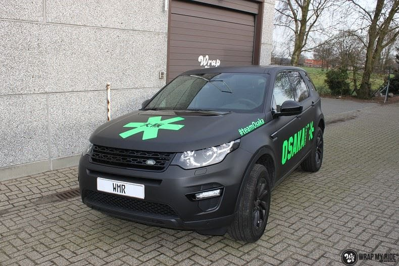 RangeRover Discovery Sport Osaka, Carwrapping door Wrapmyride.nu Foto-nr:8695, ©2020