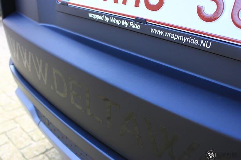 Range Rover Evoque 2016 mat  zwart Deltaworx, Carwrapping door Wrapmyride.nu Foto-nr:8761, ©2020