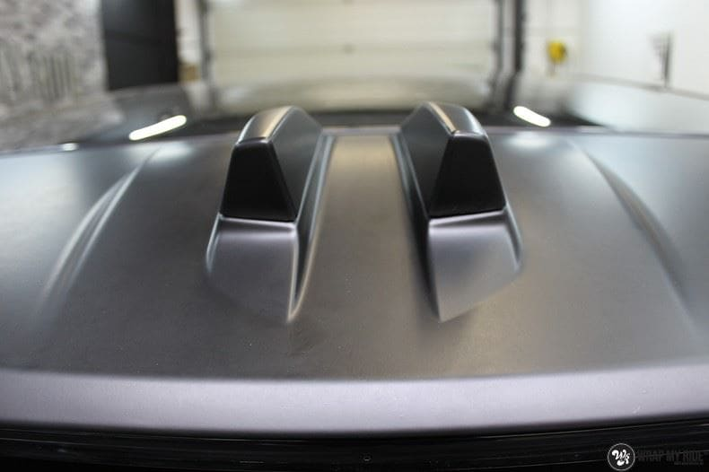 Range Rover Evoque 2016 mat  zwart Deltaworx, Carwrapping door Wrapmyride.nu Foto-nr:8755, ©2020