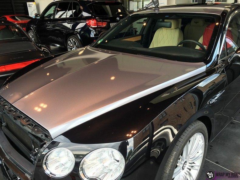 Bentley Flyingspur 2-tone, Carwrapping door Wrapmyride.nu Foto-nr:12458, ©2019