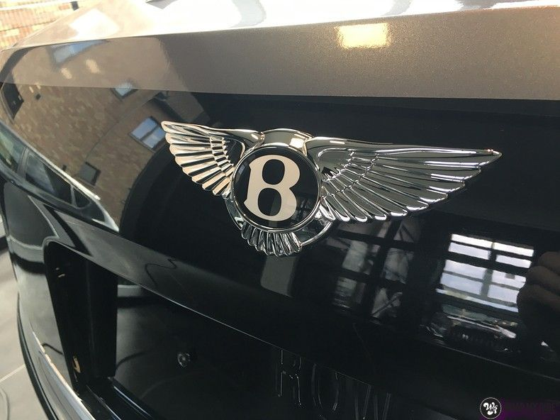 Bentley Flyingspur 2-tone, Carwrapping door Wrapmyride.nu Foto-nr:12453, ©2019