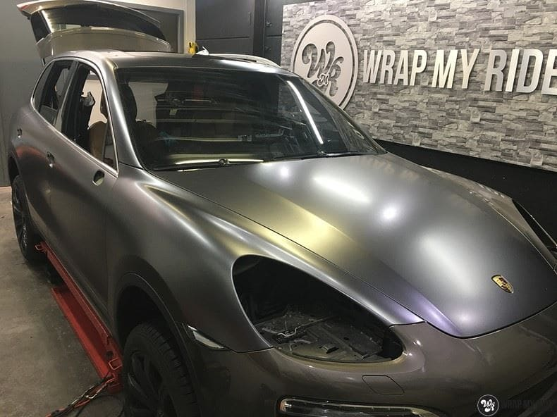 Porsche Cayenne, Carwrapping door Wrapmyride.nu Foto-nr:9623, ©2018