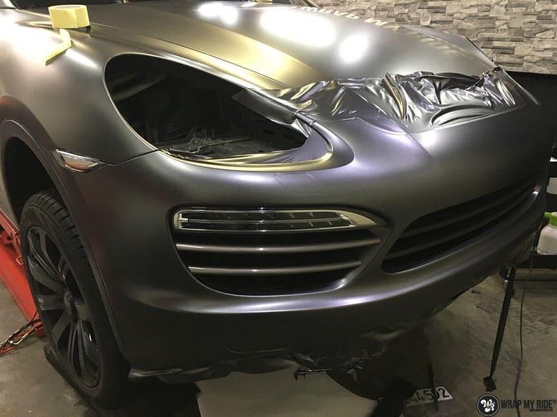 Porsche Cayenne, Carwrapping door Wrapmyride.nu Foto-nr:9619, ©2021