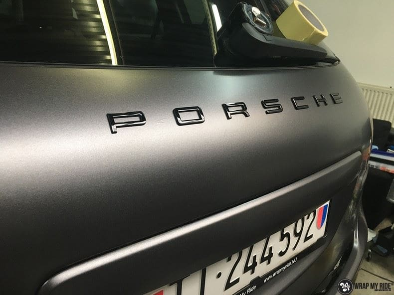 Porsche Cayenne, Carwrapping door Wrapmyride.nu Foto-nr:9615, ©2018