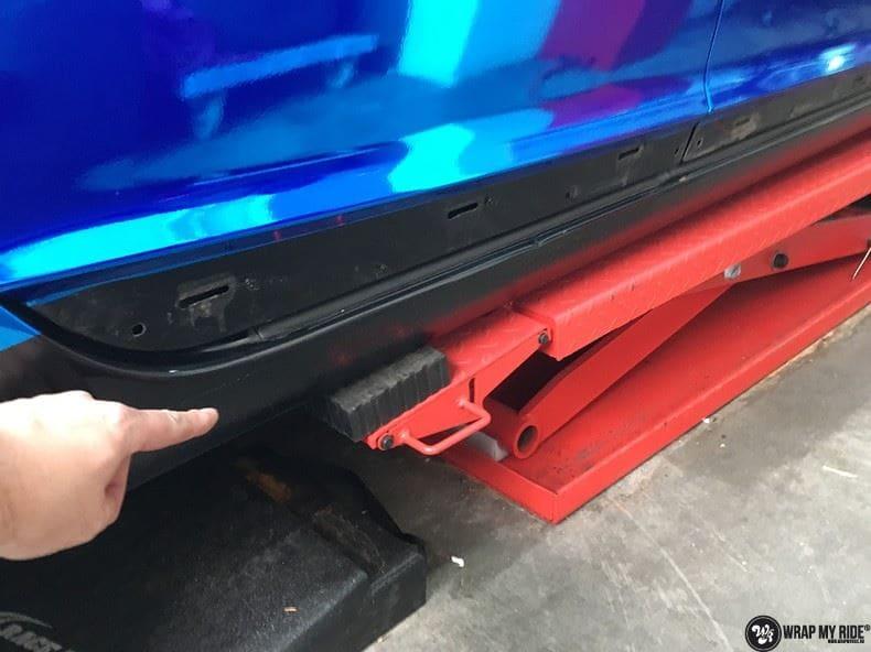 Audi A6 Bleu Chrome, Carwrapping door Wrapmyride.nu Foto-nr:9753, ©2021