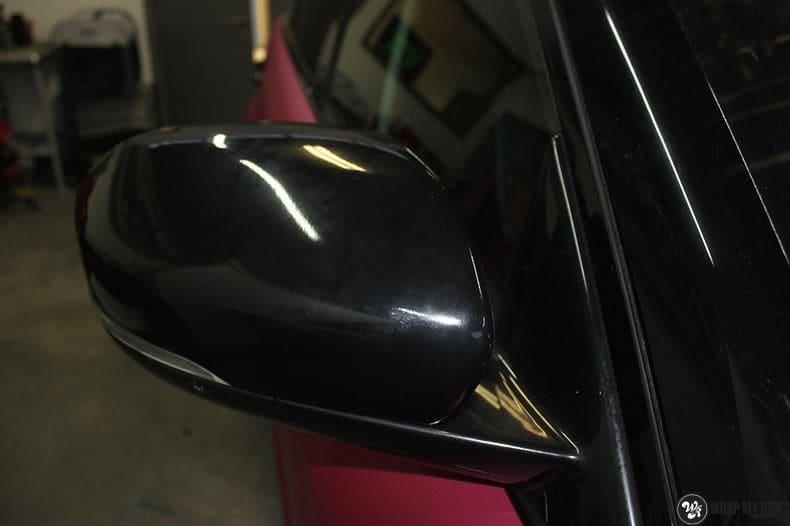 Range Rover Evoque matte metallic pink, Carwrapping door Wrapmyride.nu Foto-nr:8910, ©2020